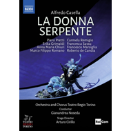 Produktbilde for Casella: La Donna Serpente: Teatro Regio Torino (Noseda) (UK-import) (DVD)
