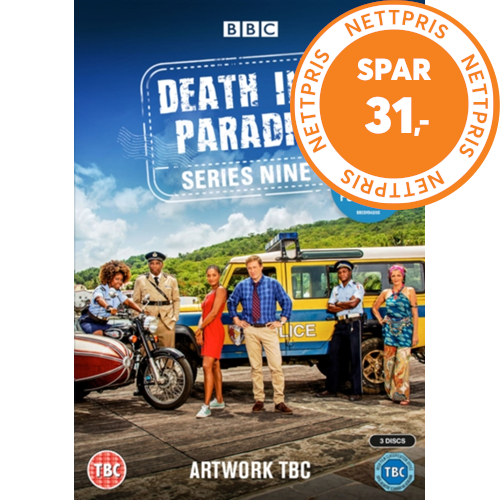 Death In Paradise / Mord I Paradis - Sesong 9 (UK-import) (DVD)