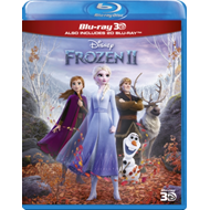 Produktbilde for Frozen II / Frost 2 (UK-import) (Blu-ray 3D + Blu-ray)