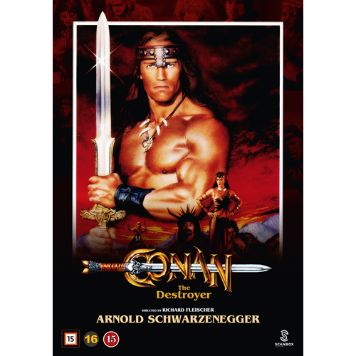 Conan The Destroyer (1984) - Conan Ødeleggeren (DVD)