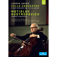 Produktbilde for Rostropovich Plays Haydn Cello (DVD)
