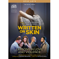 Produktbilde for Benjamin: Written On Skin - Lessons In Love And Violence - The Royal Opera (UK-import) (DVD)