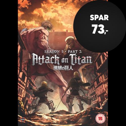 Attack On Titan: Season 3 - Part 2 (UK-import) (DVD)