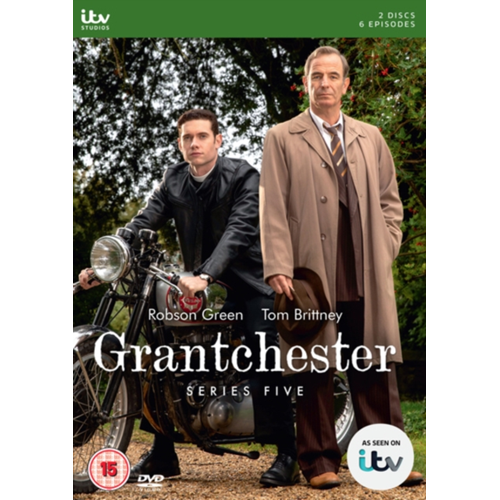 Grantchester - Sesong 5 (UK-import) (DVD)
