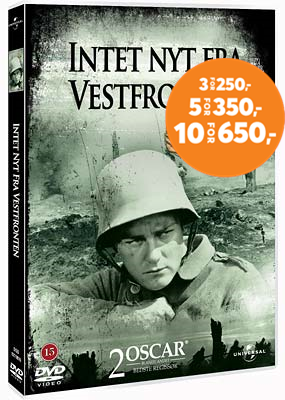 All Quiet On The Western Front (1930) / Intet Nytt Fra Vestfronten (DK-import) (DVD)