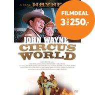 Produktbilde for Circus World (1964) / Det Store Wild West Show (DK-import) (DVD)