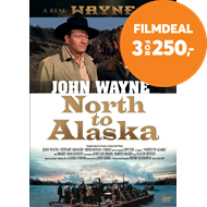 Produktbilde for North To Alaska  (1960) / Tre Glade Gullgravere (DK-import) (DVD)