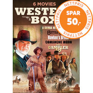 Produktbilde for Western Box - 6 Movies (DK-import) (DVD)