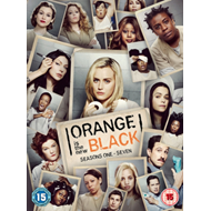 Produktbilde for Orange Is The New Black - Sesong 1-7: The Complete Collection (UK-import) (DVD)