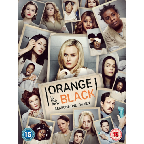 Orange Is The New Black - Sesong 1-7: The Complete Collection (UK-import) (DVD)
