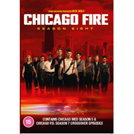 Produktbilde for Chicago Fire - Sesong 8 (UK-import) (DVD)