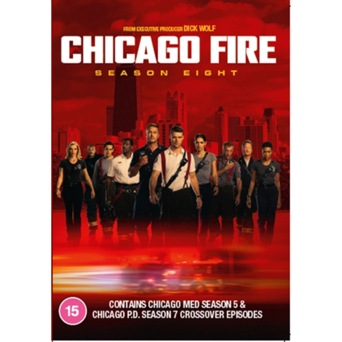 Chicago Fire - Sesong 8 (UK-import) (DVD)