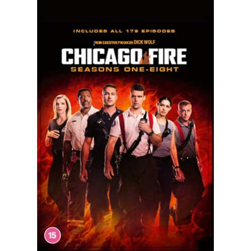 Chicago Fire - Sesong 1-8 (UK-import) (DVD)