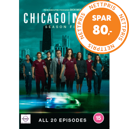Chicago Med - Sesong 5 (UK-import) (DVD)