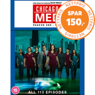 Produktbilde for Chicago Med - Sesong 1-5 (UK-import) (DVD)