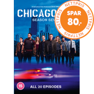 Produktbilde for Chicago P.D. - Sesong 7 (UK-import) (DVD)