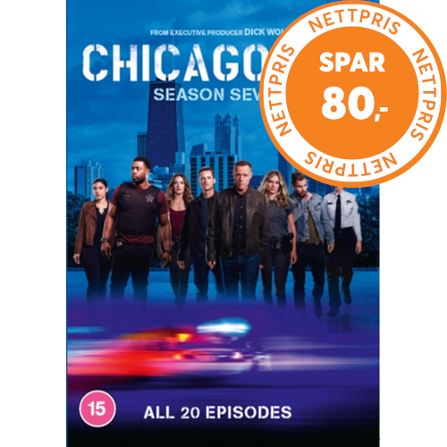Chicago P.D. - Sesong 7 (UK-import) (DVD)