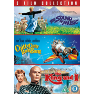 Produktbilde for The Sound Of Music / Chitty Chitty Bang Bang / The King And I (UK-import) (DVD)
