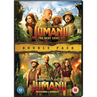 Produktbilde for Jumanji: Welcome To The Jungle (2017) / The Next Level (2019) (UK-import) (DVD)