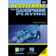 Produktbilde for Accelerate Your Saxophone Playing (UK-import) (DVD)