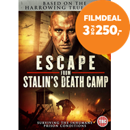 Produktbilde for Escape From Stalin's Death Camp (UK-import) (DVD)