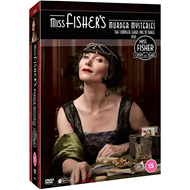 Produktbilde for Miss Fisher's Murder Mysteries - Sesong 1-3 & The Crypt Of Tears: The Complete Series (UK-import) (DVD)