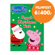 Produktbilde for Peppa Pig: Peppa's Christmas Visit (UK-import) (DVD)