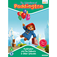 Produktbilde for The Adventures Of Paddington: Paddington And The Balloons & Other Episodes (UK-import) (DVD)