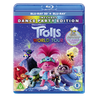 Produktbilde for Trolls 2 - World Tour (UK-import) (Blu-ray 3D + Blu-ray)