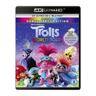 Produktbilde for Trolls 2 - World Tour (UK-import) (4K Ultra HD + Blu-ray)