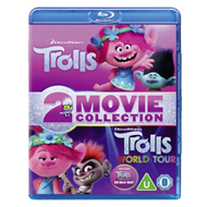 Produktbilde for Trolls & Trolls 2 - World Tour (UK-import) (Blu-ray 3D + Blu-ray)