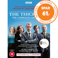 Produktbilde for The Thick Of It - Complete Collection (UK-import) (DVD)
