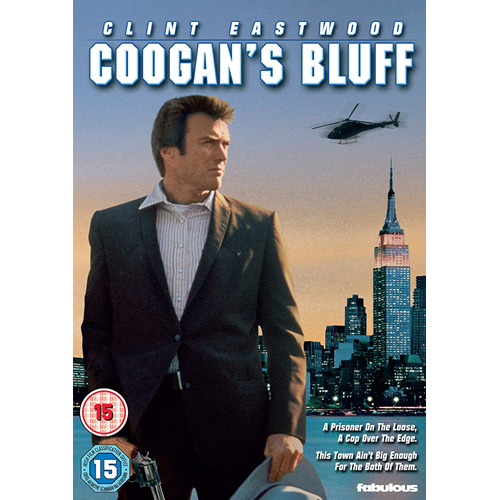 Coogan's Bluff (1968) / Med Alle Midler (UK-import) (DVD)