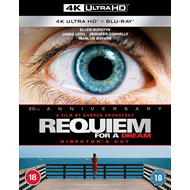 Produktbilde for Requiem For A Dream - Director's Cut (UK-import) (4K Ultra HD + Blu-ray)
