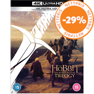 Produktbilde for Hobbiten - Trilogien - Extended Edition (UK-import) (4K Ultra HD + Blu-ray)