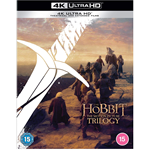 Hobbiten - Trilogien - Extended Edition (UK-import) (4K Ultra HD + Blu-ray)