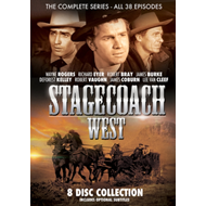 Produktbilde for Stagecoach West - The Complete Series (UK-import) (DVD)