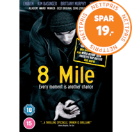 Produktbilde for 8 Mile (UK-import) (DVD)