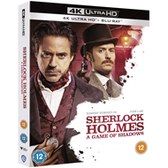 Produktbilde for Sherlock Holmes (2011) - A Game Of Shadows (UK-import) (4K Ultra HD + Blu-ray)
