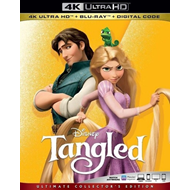 Produktbilde for Tangled (2010) / To På Rømmen (4K Ultra HD + Blu-ray)