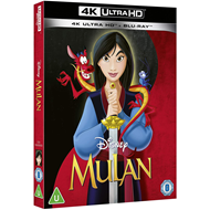 Produktbilde for Mulan (1998) (UK-import) (4K Ultra HD + Blu-ray)