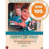 Produktbilde for Murder She Wrote (Jessica Fletcher) - Sesong 1-12: The Complete Series (DK-import) (DVD)