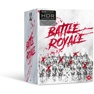 Produktbilde for Battle Royale (2000) / Battle Royale II: Requiem (2003) - Limited Collector's Edition (UK-import) (4K Ultra HD + Blu-ray)