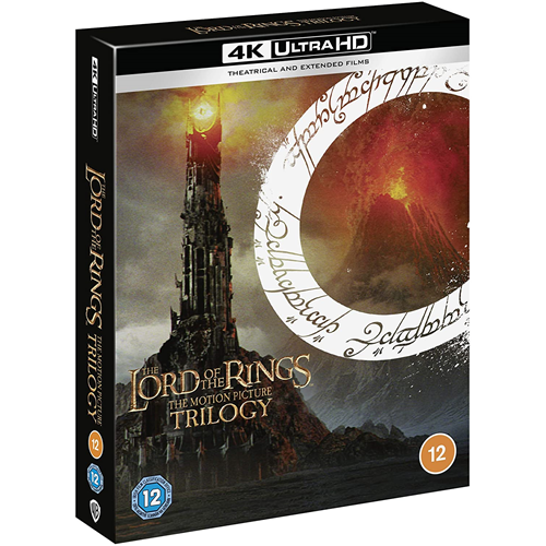The Lord Of The Rings Trilogy (UK-import) (4K Ultra HD + Blu-ray)