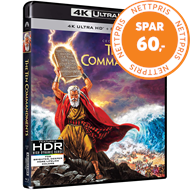 Produktbilde for The Ten Commandments (1956) / De Ti Bud (UK-import) (4K Ultra HD + Blu-ray)