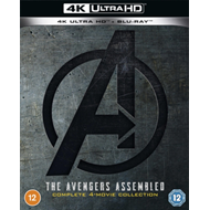 Produktbilde for Avengers: 4-Movie Collection (UK-import) (4K Ultra HD + Blu-ray)