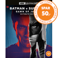 Produktbilde for Batman V Superman - Dawn Of Justice: Ultimate Edition (4K Ultra HD + Blu-ray)