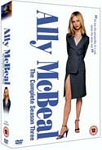 Ally McBeal - Sesong 3 (UK-import) (DVD)