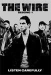 The Wire - Sesong 1 (UK-import) (DVD)