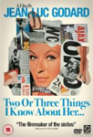 Two Or Three Things I Know About Her (UK-import) (DVD)